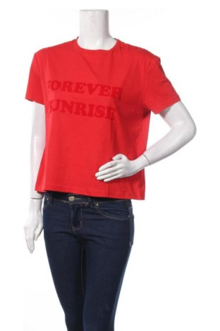 Дамска тениска 2ND Day, Размер S, Цвят Червен, Памук, Цена 33,12лв.