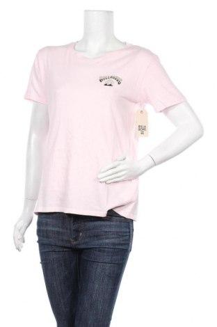 Дамска тениска Billabong, Размер M, Цвят Розов, Памук, Цена 22,05лв.