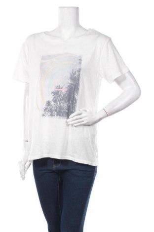 Γυναικείο t-shirt Billabong, Μέγεθος L, Χρώμα Λευκό, Βαμβάκι, Τιμή 9,60€