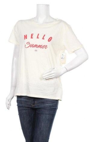 Дамска тениска Billabong, Размер L, Цвят Екрю, Памук, Цена 31,85лв.