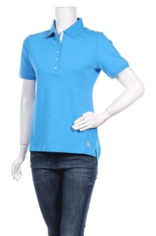 Γυναικείο t-shirt Daniel Hechter, Μέγεθος S, Χρώμα Μπλέ, 95% βαμβάκι, 5% ελαστάνη, Τιμή 10,64€