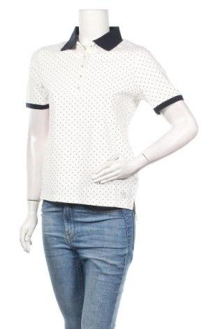Tricou de femei Daniel Hechter, Mărime L, Culoare Alb, 95% bumbac, 5% elastan, Preț 56,84 Lei