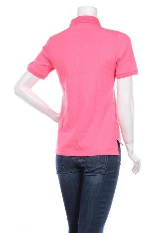 Дамска тениска Daniel Hechter, Размер XS, Цвят Розов, 95% памук, 5% еластан, Цена 38,35лв.