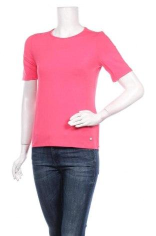 Дамска тениска Daniel Hechter, Размер XS, Цвят Розов, 92% вискоза, 8% еластан, Цена 41,30лв.