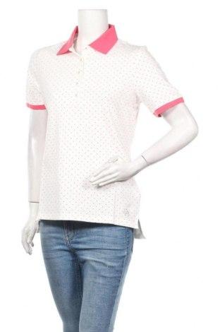 Γυναικείο t-shirt Daniel Hechter, Μέγεθος M, Χρώμα Λευκό, 95% βαμβάκι, 5% ελαστάνη, Τιμή 11,55€