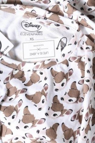 Дамска тениска Eleven Paris, Размер XS, Цвят Многоцветен, 100% памук, Цена 41,40лв.