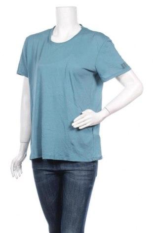 Дамска тениска Eleven Paris, Размер L, Цвят Зелен, Памук, Цена 44,25лв.