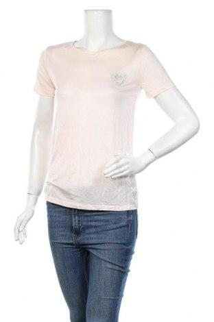 Γυναικείο t-shirt Etam, Μέγεθος S, Χρώμα Ρόζ , Lyocell, Τιμή 7,09€