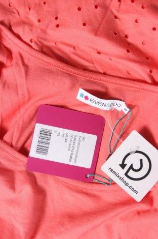 Дамска тениска Even&Odd, Размер S, Цвят Оранжев, 100% памук, Цена 16,24лв.