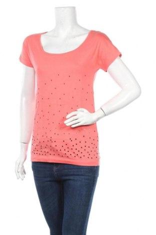 Дамска тениска Even&Odd, Размер XS, Цвят Оранжев, 100% памук, Цена 16,24лв.