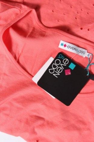 Дамска тениска Even&Odd, Размер XS, Цвят Оранжев, 100% памук, Цена 16,80лв.