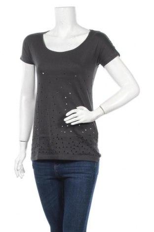 Дамска тениска Even&Odd, Размер S, Цвят Сив, 100% памук, Цена 12,04лв.