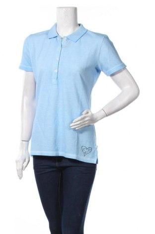 Γυναικείο t-shirt Frieda & Freddies, Μέγεθος M, Χρώμα Μπλέ, Βαμβάκι, Τιμή 26,47€