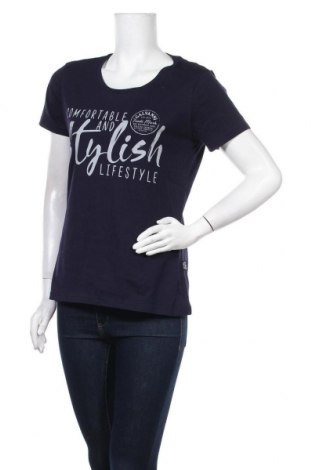 Γυναικείο t-shirt Galvanni, Μέγεθος XL, Χρώμα Μπλέ, Βαμβάκι, Τιμή 24,93€