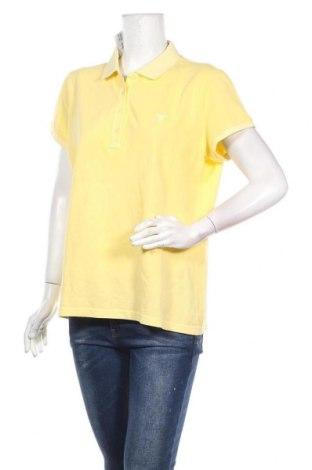 Дамска тениска Gant, Размер XL, Цвят Жълт, Цена 35,10лв.