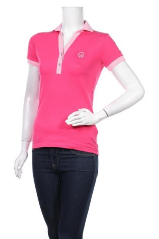 Дамска тениска Giorgio Di Mare, Размер XS, Цвят Розов, 92% памук, 8% еластан, Цена 50,70лв.