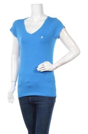 Дамска тениска Giorgio Di Mare, Размер M, Цвят Син, 94% памук, 6% еластан, Цена 44,20лв.