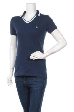 Дамска тениска Giorgio Di Mare, Размер M, Цвят Син, 95% памук, 5% еластан, Цена 50,70лв.