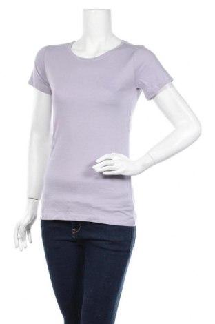 Γυναικείο t-shirt Jacqueline De Yong, Μέγεθος S, Χρώμα Βιολετί, Βαμβάκι, Τιμή 7,48€