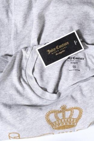Дамска тениска Juicy Couture, Размер XS, Цвят Сив, 100% памук, Цена 37,20лв.