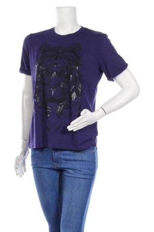 Γυναικείο t-shirt Just Cavalli, Μέγεθος M, Χρώμα Βιολετί, 96% βισκόζη, 4% ελαστάνη, Τιμή 51,63€