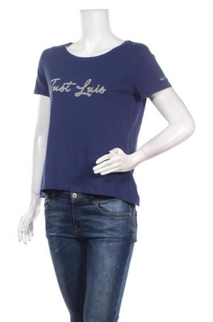 Дамска тениска Luis Trenker, Размер S, Цвят Син, 94% памук, 6% еластан, Цена 53,72лв.