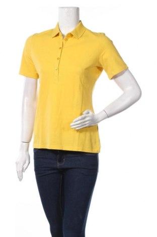 Γυναικείο t-shirt Maerz Muenchen, Μέγεθος M, Χρώμα Κίτρινο, Βαμβάκι, Τιμή 27,34€
