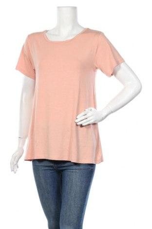 Γυναικείο t-shirt Mbym, Μέγεθος M, Χρώμα Ρόζ , 95% μοντάλ, 5% ελαστάνη, Τιμή 7,59€