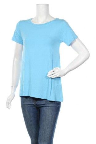 Γυναικείο t-shirt Mbym, Μέγεθος XS, Χρώμα Μπλέ, 95% μοντάλ, 5% ελαστάνη, Τιμή 7,75€