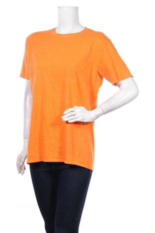 Дамска тениска Missguided, Размер M, Цвят Оранжев, Цена 20,80лв.