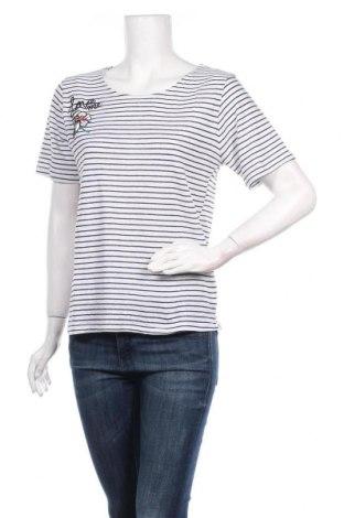 Γυναικείο t-shirt Molly Bracken, Μέγεθος L, Χρώμα Λευκό, 41% λινό, 39% βαμβάκι, 20% πολυεστέρας, Τιμή 16,49€