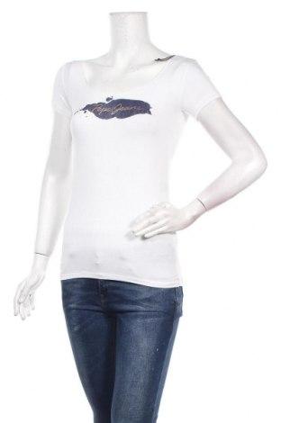 Дамска тениска Pepe Jeans, Размер XS, Цвят Бял, 97% вискоза, 3% еластан, Цена 46,92лв.