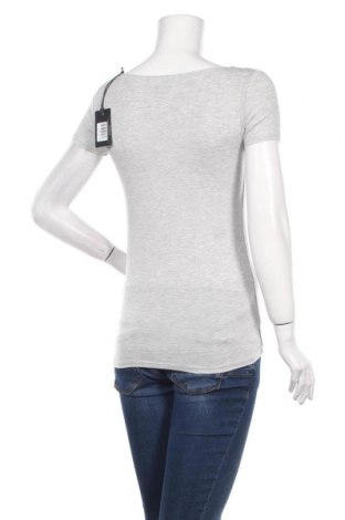 Дамска тениска Pepe Jeans, Размер XS, Цвят Сив, 97% вискоза, 3% еластан, Цена 44,85лв.
