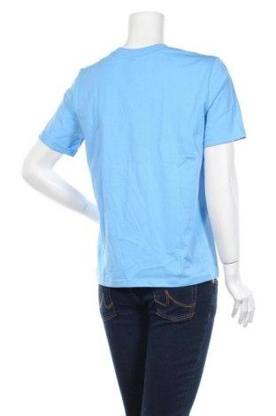 Γυναικείο t-shirt Pieces, Μέγεθος M, Χρώμα Μπλέ, Βαμβάκι, Τιμή 10,82€