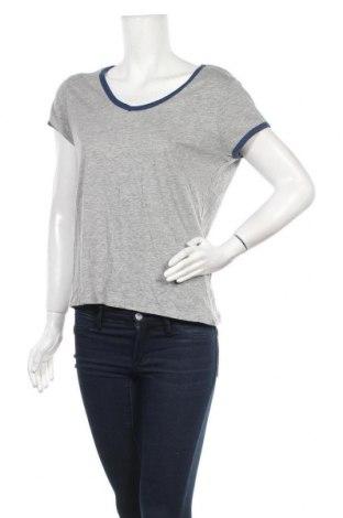 Γυναικείο t-shirt Springfield, Μέγεθος L, Χρώμα Γκρί, 85% βαμβάκι, 15% πολυεστέρας, Τιμή 4,93€