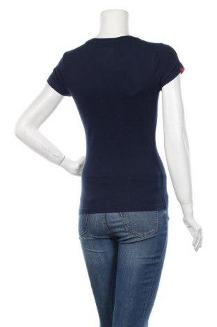 Дамска тениска Superdry, Размер XXS, Цвят Син, 100% памук, Цена 51,35лв.