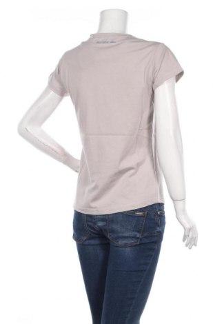 Дамска тениска U.S. Polo Assn., Размер M, Цвят Сив, Памук, Цена 47,40лв.