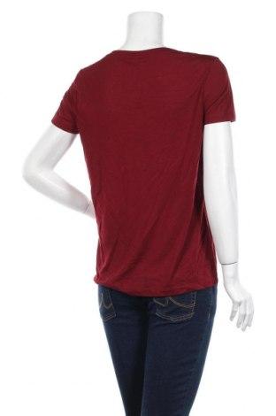 Дамска тениска Vero Moda, Размер S, Цвят Червен, 65% полиестер, 35% вискоза, Цена 18,85лв.