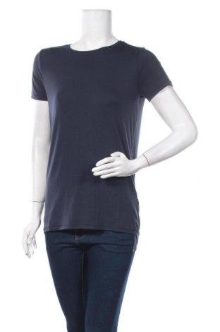 Дамска тениска Yaya, Размер XS, Цвят Син, 95% модал, 5% еластан, Цена 18,06лв.