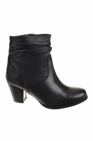 Дамски боти Manoukian, Размер 40, Цвят Черен, Естествена кожа, Цена 47,38лв.