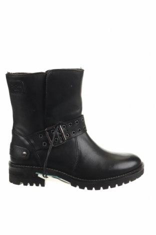 Γυναικεία μποτάκια Pepe Jeans, Μέγεθος 38, Χρώμα Μαύρο, Γνήσιο δέρμα, Τιμή 107,86€