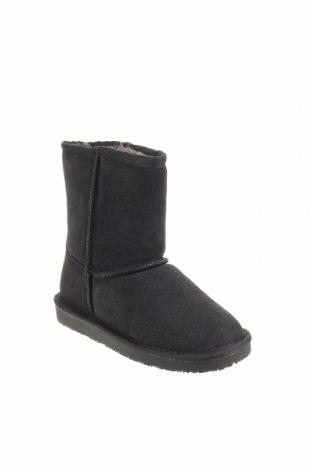 Παιδικά παπούτσια Minnetonka, Μέγεθος 35, Χρώμα Γκρί, Φυσικό σουέτ, Τιμή 50,52€