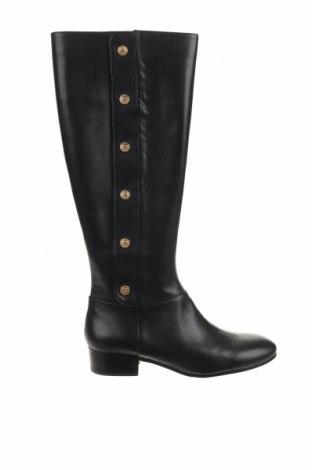 Γυναικείες μπότες Nine West, Μέγεθος 38, Χρώμα Μαύρο, Γνήσιο δέρμα, Τιμή 73,43€