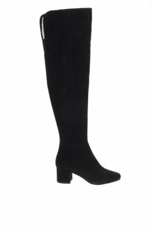 Γυναικείες μπότες Nine West, Μέγεθος 36, Χρώμα Μαύρο, Φυσικό σουέτ, Τιμή 73,43€