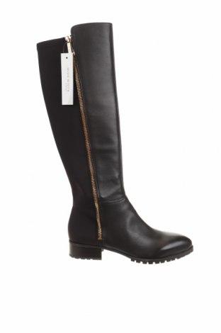 Γυναικείες μπότες Nine West, Μέγεθος 37, Χρώμα Καφέ, Γνήσιο δέρμα, κλωστοϋφαντουργικά προϊόντα, Τιμή 43,56€