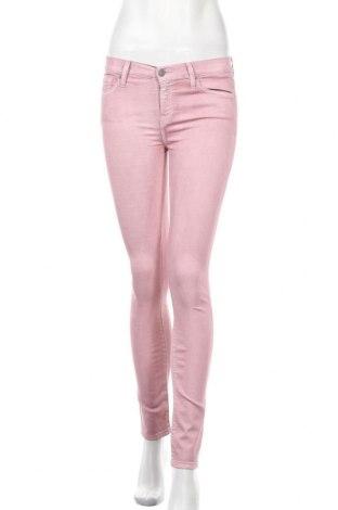 Дамски дънки 7 For All Mankind, Размер S, Цвят Розов, 69% памук, 27% полиестер, 4% еластан, Цена 38,22лв.