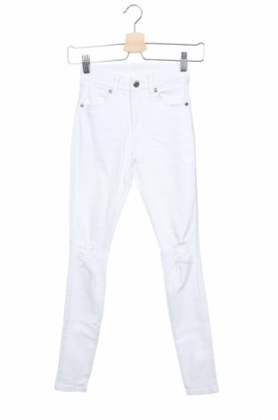 Дамски дънки Dr. Denim, Размер XS, Цвят Бял, 98% памук, 2% еластан, Цена 27,84лв.