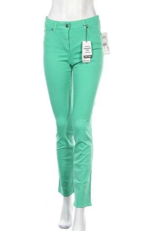 Дамски дънки Gerry Weber, Размер XS, Цвят Зелен, 98% памук, 2% еластан, Цена 26,70лв.