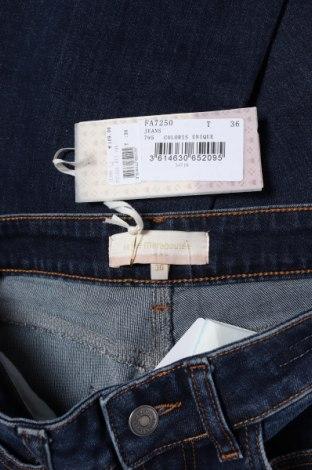 Дамски дънки La Fee Maraboutee, Размер S, Цвят Син, 99% памук, 1% еластан, Цена 34,75лв.