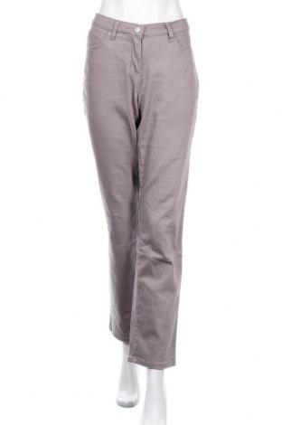 Γυναικείο Τζίν Mia Linea, Μέγεθος L, Χρώμα Γκρί, 97% βαμβάκι, 3% ελαστάνη, Τιμή 10,56€